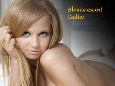 blonde escort ladies